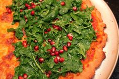 Salad Pizza - Lovely combination of Cheese Pizza and Salad!