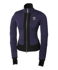 Take a look at this Purple & Black Vikur Jacket by 66 North on #zulily today!