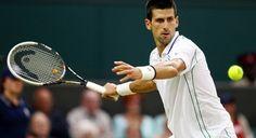 Novak Djokovic Congratulates Leander Paes at Wimbledon Tennis Masters, Super Bowl 2016, Tennis Online, Davis Cup, Wimbledon Tennis, Professional Tennis Players, Sports Awards, Tennis Championships, Australian Open