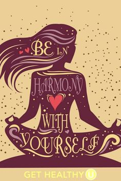 Be in harmony with yourself wild woman sisterhood wildwomansisterhood sacredwisdom wildwomanteachings theuniversewithin wildwomanmedicine yoga om namaste des citations pour s accepter et apprendre enfin s aimer Motivacional Quotes, Yoga Quotes, Namaste Quotes, Namaste Art, Chakras, Fitness Inspiration, Motivation Inspiration, Affirmations, Mind Body Soul