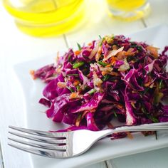 Asian Coleslaw with Peanuts – Every outdoor party needs a side of coleslaw!