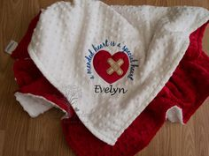 Baseball personalized minky baby blanket personalized minky baby personalized minky baby blanket personalized baby gift chd heart minky baby blanket a negle Images