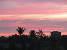 Pôr do sol em Cruzeiro do Sul / Acre