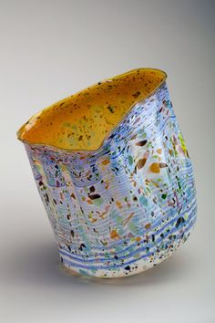 Featured Acquisition: Contemporary Glass from Donald and Carol Wiiken Blown Glass Art, Art Of Glass, Stained Glass Art, Glass Vase, Glass Installation, Dale Chihuly, Fantastic Art, Amazing Artwork, Elements Of Art
