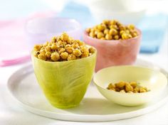 Crispy, spicy chickpeas. How many can you toss in your mouth in a row?