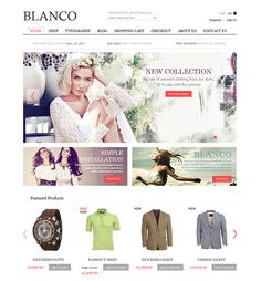 This ecommerce WordPress theme is compatible with WP e-Commerce and WooCommerce, and it has a responsive design, social media integration, unlimited colour variations, and much more.