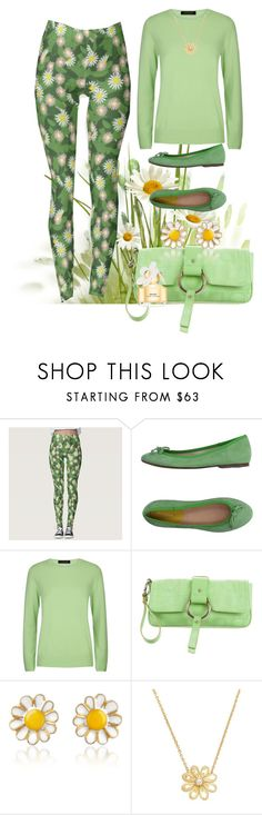 """""""Spring Daisies"""" by sgolis ❤ liked on Polyvore featuring Alberto Moretti, Jaeger, Dolce&Gabbana, AZ Collection, Suneera and Marc Jacobs"""