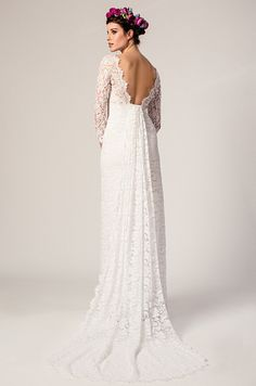 Beautiful lace wedding dress! Temperley, Summer 2015