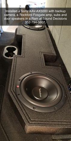 Ram Upgrade, Rockford Fosgate, Backup Camera, Speakers, Home Appliances, Amp, House Appliances, Appliances, Loudspeaker
