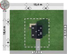 Projekt domu Eklerka - murowana – beton komórkowy 74,20 m² - koszt budowy - EXTRADOM 20 M2