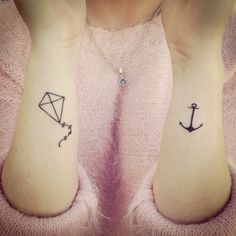 "A Bipolar tattoo. ""Remain in the middle"" as simple as that sounds, I am in tears with the meaning. Future Tattoos, New Tattoos, Tatoos, Kite Tattoo, Tattoo Forearm, Bipolar Tattoo, Recovery Tattoo, Tattoos With Meaning, Tattoo Meanings"