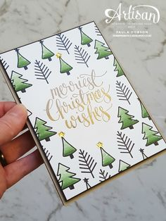 Find more information on Homemade Christmas Card Ideas Homemade Christmas Cards, Stampin Up Christmas, Christmas Cards To Make, Xmas Cards, Diy Cards, Handmade Christmas, Christmas Diy, Stampin Up Weihnachten, Christmas Drawing