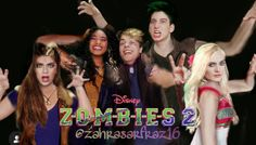 *DO NOT REPOST UNLESSS YOU GOVE ME FULL CREDITS IN CAPTIONS OF INSTAGRAM: @zahrasarfraz16* Zombie Disney, Zombie 2, Disney Channel Original, Original Movie, China Anne Mcclain Instagram, Chandler Kinney, Meg Donnelly, Zombie Movies, Movie Wallpapers