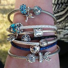 Beads Galore, Chamilia Beads Magic Charms, Thomas Sabo, Pandora Jewelry, Bracelets, Swarovski Crystals, Charmed, Jewels, Beads, Gold
