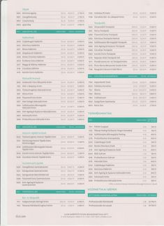ILCSI Lakossági Árlista 2019. - lilakozmetika.hu Art, Art Background, Kunst, Performing Arts, Art Education Resources, Artworks