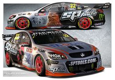 Print 31 photo by Velocemoto Australian V8 Supercars, Australian Cars, Race Car Track, Race Cars, Car Prints, Aussie Muscle Cars, Car Tuning, Racing Team, Rally Car