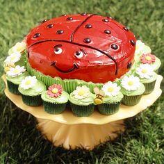 Lucky Ladybug Cake