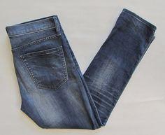 "GAP 1969 Authentic Best Girlfriend Jeans 27 4 Stretch Denim 28"" Imperial Indigo  #GAP #Relaxed"