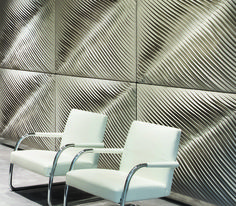 Acoustic wall coverings for Retail design