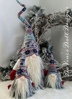 Scandinavian Gnome Tomte Nisse Santa Elf Troll decoration