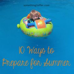 10 ways to prepare for summer @