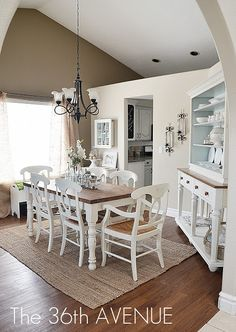 Home Decor: Neutral Dining Room and Decor Tips. #home #decor @the36havenue