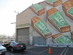Blu makes mural in the spirit of street art, get buffed by MOCA