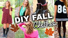Cute & Easy DIY Fall Clothes Inspired by Tumblr!