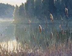 Quietude by Kathleen Dunphy Oil ~ 24 x 30 Pastel Landscape, Watercolor Landscape, Landscape Art, Landscape Paintings, Watercolor Art, Pastel Art, Seascape Paintings, Art Techniques, Art Oil