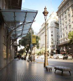 Calles de Buenos Aires-Argentina