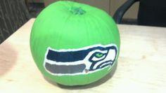 Seahawks pumpkin #inspiration