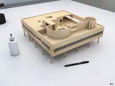 """Résultat de recherche d'images pour """"villa savoye 3d"""""""