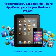 Hire our Industry Leading iPad/iPhone App Developers to handle your Business Projects!