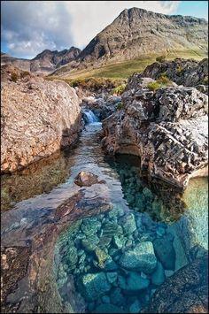 Fairy Pools - Glenbrittle, Isle of Skye, Scotland