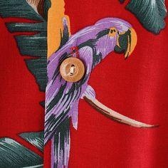 Jungle Bird Hawaiian Shirt