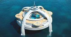 Typical vacation locales too dull? Try a floating island!