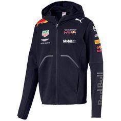 328b44233 Red Bull Formula 1 Aston Martin 2018 Men's Team Blue Hooded Sweatshirt Red  Bull F1,