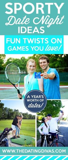 These are such fun active date ideas! Games we already love...but with a totally unique twist! How creative! www.TheDatingDiva...