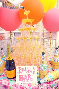 Pop the bubbly- it's the First Day of Summer aka National Wear Your Lilly Day!