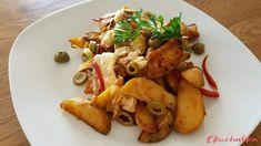 Chicken, Meat, Food, Red Peppers, Essen, Meals, Yemek, Eten, Cubs