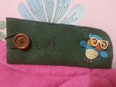 Owl glasses case Part 1