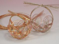 Japanese Mizuhiki Craft - Wrapping Basket