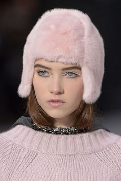 The Best Makeup Looks from Fall 2013: Glittery Eyes at Chanel