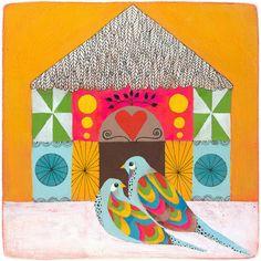 Lisa Congdon   Lovebirds