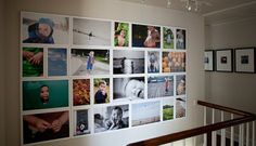 family photos wall display ideas | Decorating with Wall Portraits Part 2 | Heather Rivlin Photography