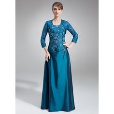 A-Line/Princess Scoop Neck Floor-Length Lace Beading Sequins Zipper Up Regular Straps Sleeveless Yes Ink Blue Fall Winter General Plus Taffeta Mother of the Bride Dress Mother Of Groom Dresses, Bride Groom Dress, Mother Of The Bride, Ruffle Beading, Beaded Lace, Custom Dresses, Modest Dresses, Mob Dresses, Fashion Dresses
