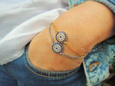 Check out this item in my Etsy shop https://www.etsy.com/listing/271561444/evil-eye-bracelet-rhinestone-turkish