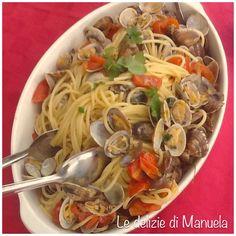 Spaghetti alle vongole - Le Delizie di Manu Le Delizie di Manu