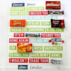 welcome home candy poster google search jeff s food pinterest