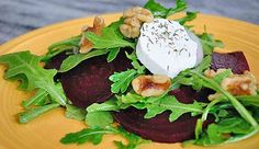 Beet and Arugula Salad from P. Allen Smith's Kitchen